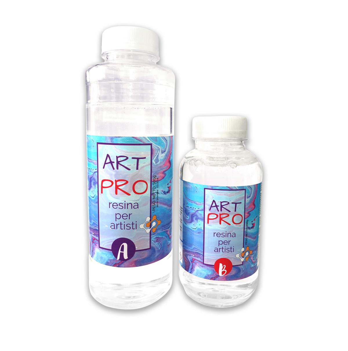 Смола Art-Pro для рисования и творчества 0.8 кг