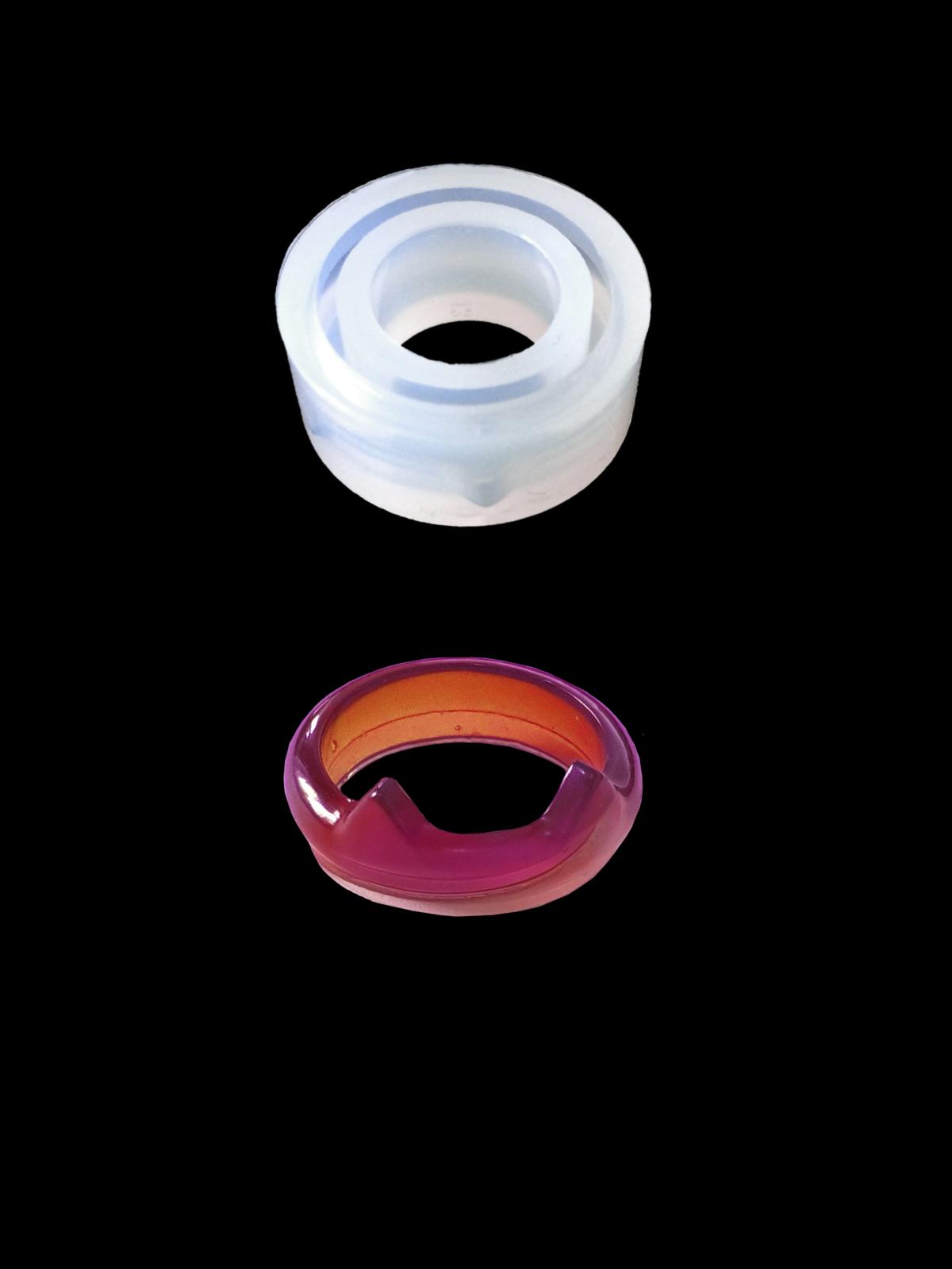 """Форма силиконовая """"Кольцо с рожками"""""""