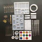 Набор силиконовых форм и аксессуаров для DIY