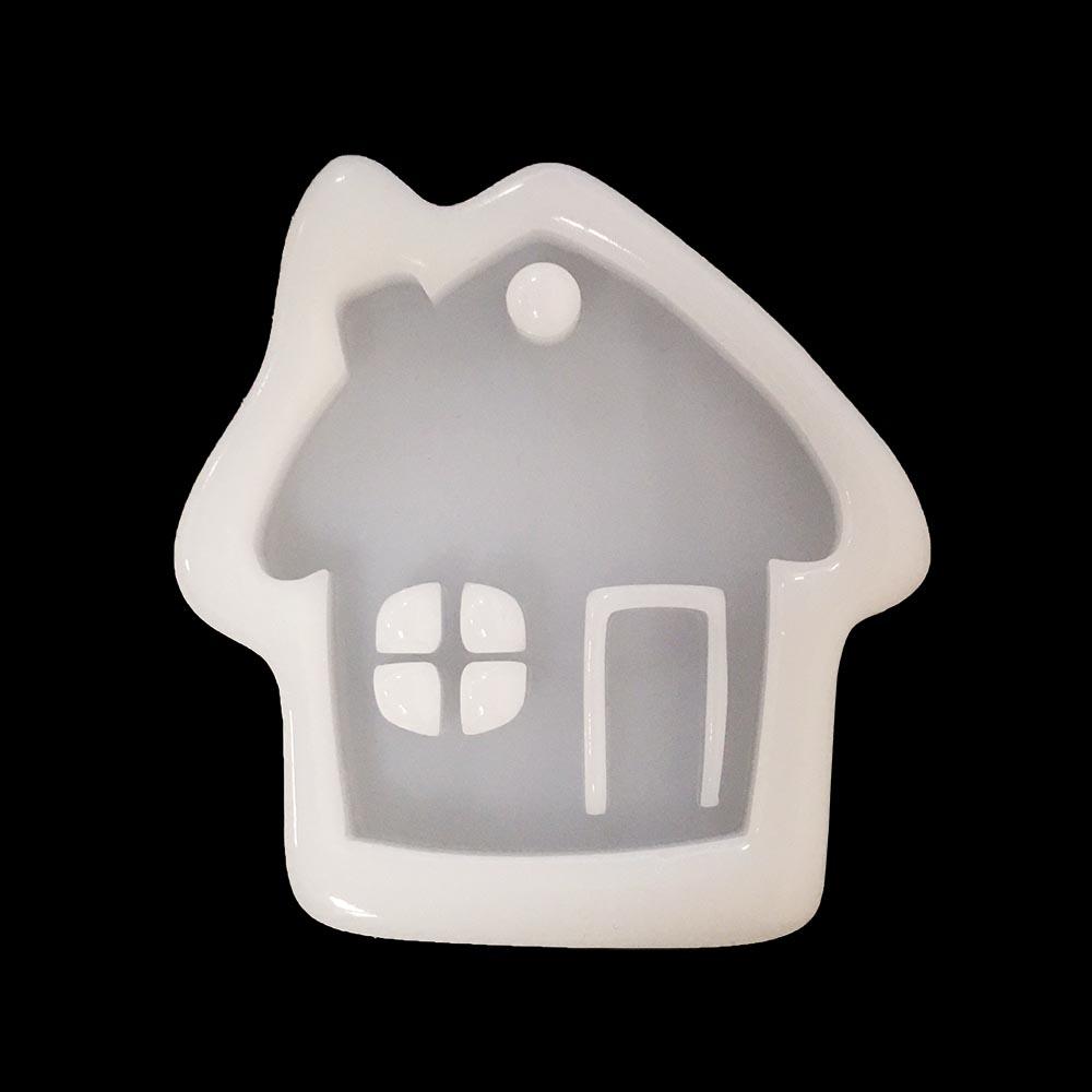 Силиконовая форма в виде домика
