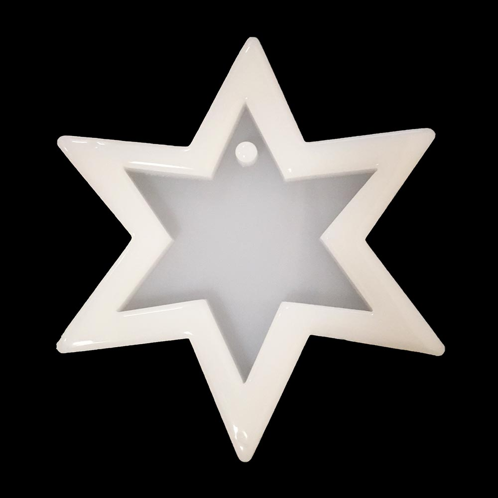Силиконовая форма в виде звезды
