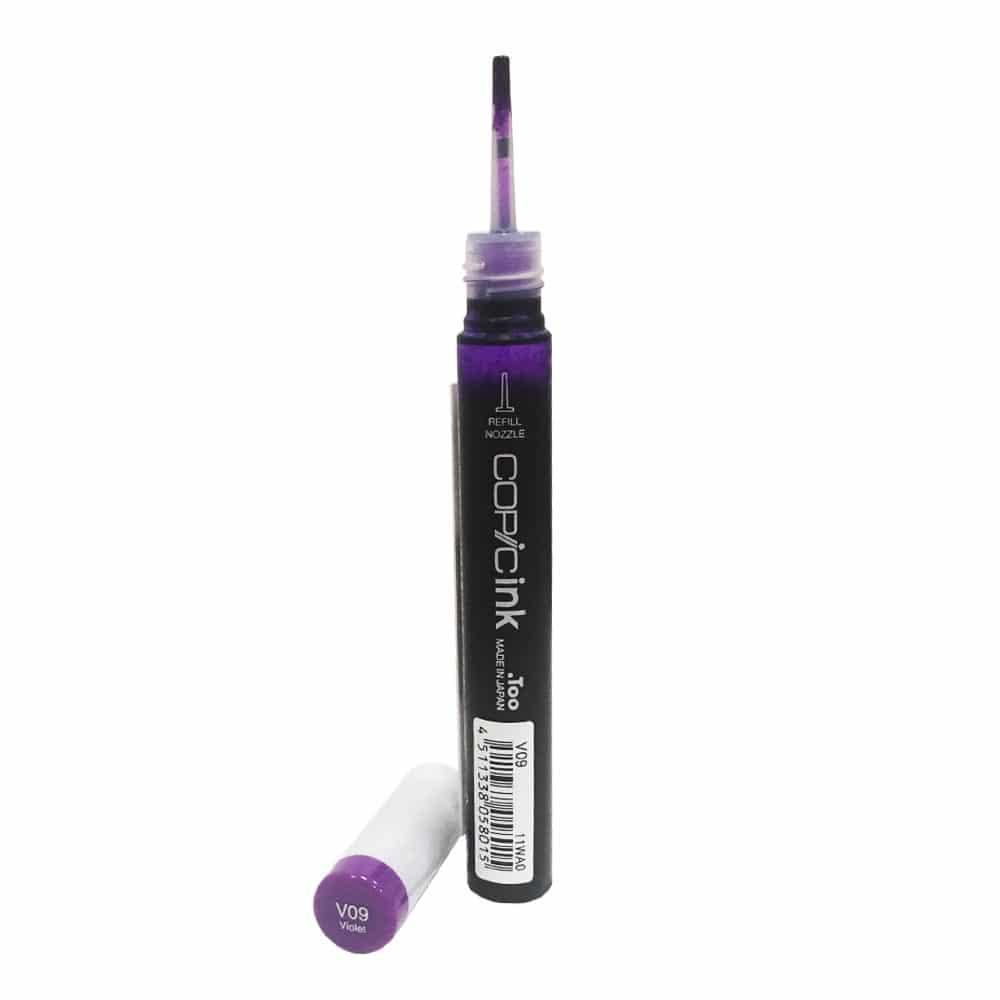 Спиртовые чернила для заправки маркеров Copic Ink
