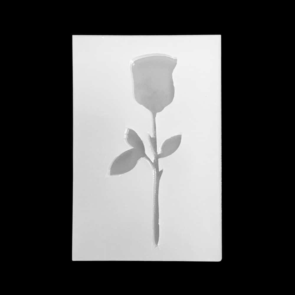 Силиконовая форма в виде розы